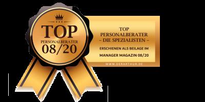 Shanna Prauser - TOP Personalberater 08/2020